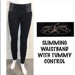 One 5 One, Slimming Wide Waist & Tummy Leggings